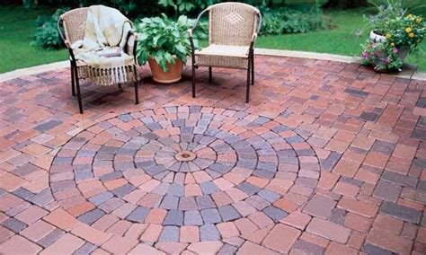 patio pattern design paving designs for patios brick patio pavers with circular pattern brick patio with