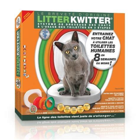 kit de toilette pour chat toilettes pour chats litter kwitter wanimo