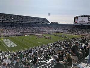 Michigan State Spartan Stadium Seating Chart Spartan Stadium Section 27 Rateyourseats Com