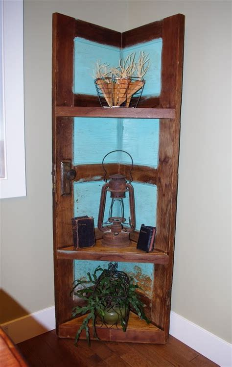 creative tryals corner shelving unit    door