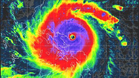 destructive landfall  super typhoon goni underway     powerful tropical