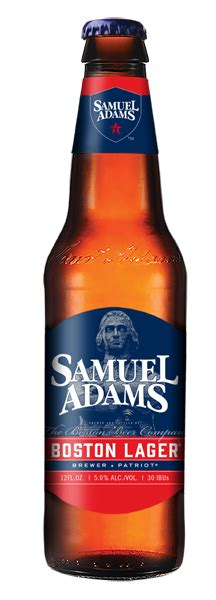 Samuel Adams Boston Lager 12PKB 12 OZ : Beer & Cider ...