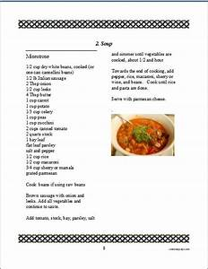 cookbook software for making and printing a family recipe book With kids cookbook template