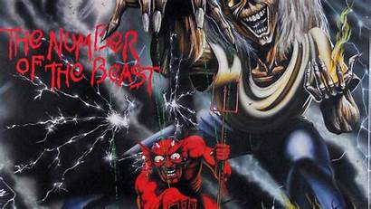 Maiden Iron Wallpapers Beast Number 3d Background