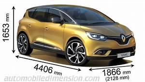 Dimension Scenic 4 : dimensions des voitures renault longueur x largeur x hauteur ~ Gottalentnigeria.com Avis de Voitures