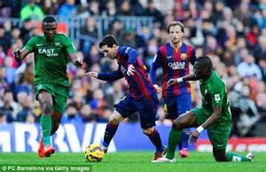 Barcelona 5 0 Levante MATCH REPORT Lionel Messi Leads The