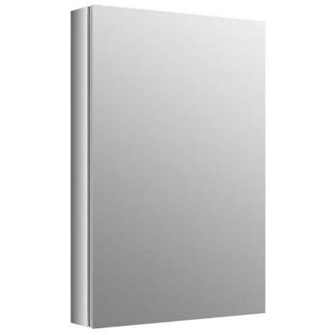 Verdera Aluminum Medicine Cabinet by Kohler Verdera 30 In X 20 In Recessed Medicine Cabinet