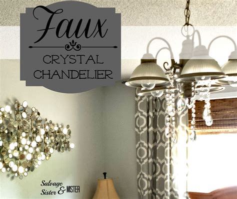 Sis Chandelier by Faux Chandelier Salvage And Mister