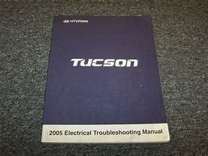 2005 Hyundai Tucson Electrical Wiring Diagram Manual Book