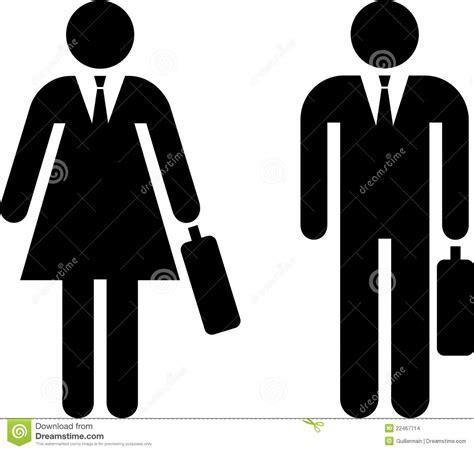 pictogramme bureau pictogramme d 39 homme d 39 affaires et de femme d 39 affaires