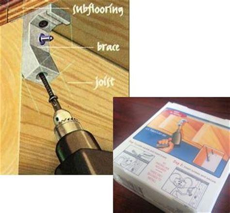 tools accessories squeaky floor repair squeak relief