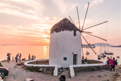 mykonos windmills   venice  history