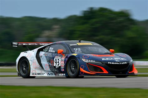 first laps acura nsx gt3 automobile magazine