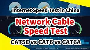 Cat 6 Cable Speeds