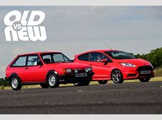 Old vs New Ford Fiesta XR2 vs Ford Fiesta ST Old vs New