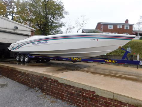 Scarab Power Boats Uk by 1994 Wellcraft Scarab 38 Power Boat For Sale Www