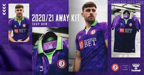 Camiseta de Visitante del Bristol City 2020-2021