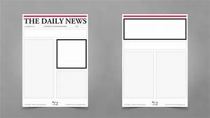 Newspaper template for kids mobawallpaper for Free printable newspaper template for students