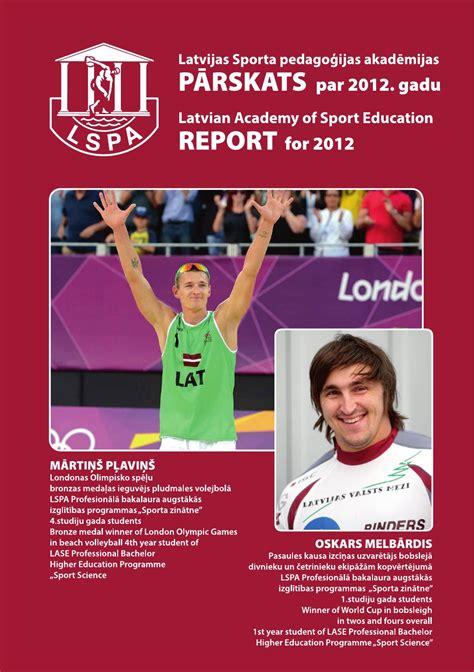LSPA pārskats par 2012.gadu - LASE report for 2012 by ...