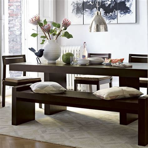 west elm bench table west elm terra dining table bench kitchen design