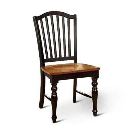 Sun & Pine Country Style Wooden Chair Wood/Black/Antique