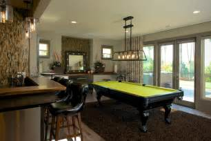 chicago bathroom design pool table lights family room contemporary with bar beige