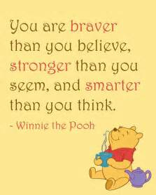 Pooh You Are Stronger Quote