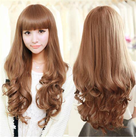 fashion hairstylehigh quality long curly wig girls