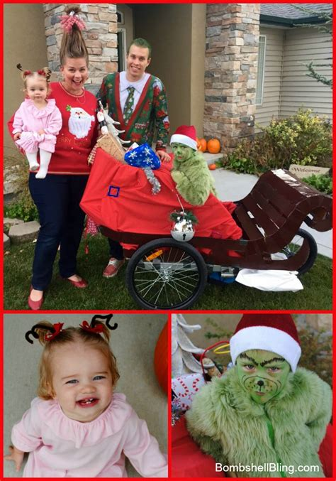 grinch cindy lou  halloween costumes