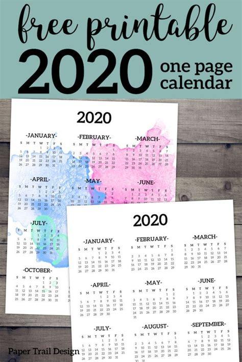 calendar printable page printables calendar