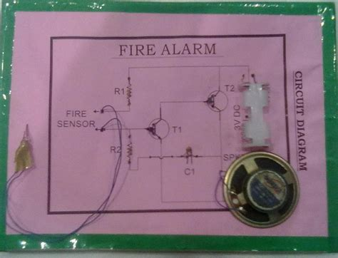 Fire Alarm Circuit Simple With Buzzer Project Jugaad