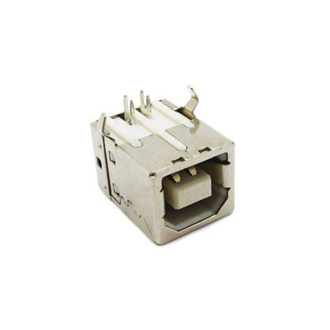 4 pin l socket usb type b 4 pin female connector socket