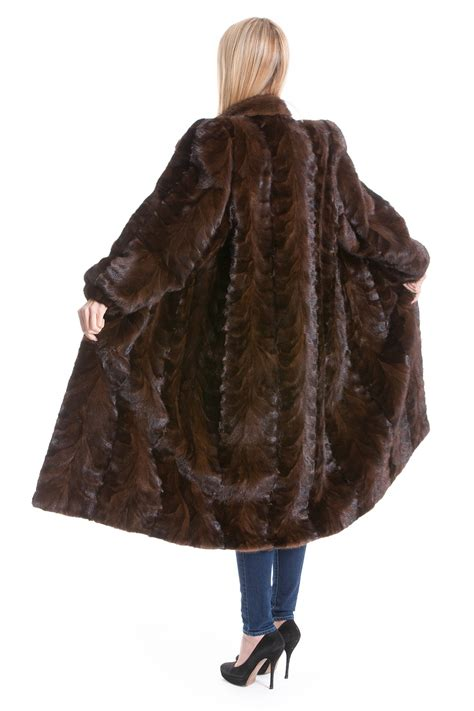 buy mink coat brown fur luxury mink brown fur real style