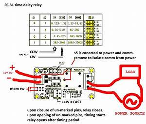 Timer Delay Relay Wiring Diagram