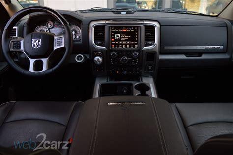 ram  laramie limited diesel crew cab  review webcarz