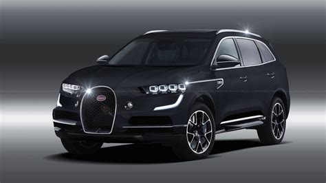 Much like the original would. Bugatti SUV Rendering Previews The Inevitable