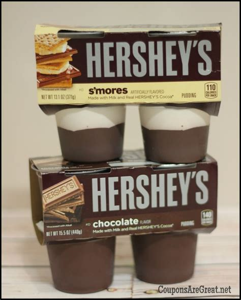My mom says it's from a box of hersheys cocoa. hersheys pudding smores chocolate - Coupons Are Great