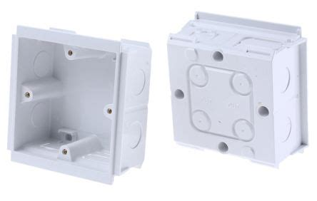 whi mk upvc cable trunking connector data socket