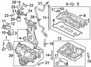 Ford Focus Engine Intake Manifold  Liter  Hybrid  Transaxle