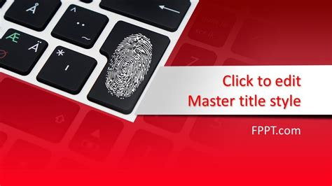 Free Digital Security PowerPoint Template - Free ...