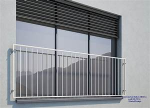 Französischer Balkon Pulverbeschichtet : franz sischer balkon md01ap wei pulverbeschichtet deutschland ~ Orissabook.com Haus und Dekorationen