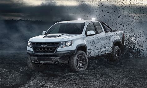 2018 Chevy Colorado Zr2 Gets Darker With Dusk And Midnight