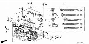 Engine Wire Harness  1  For 2009 Acura Mdx 5