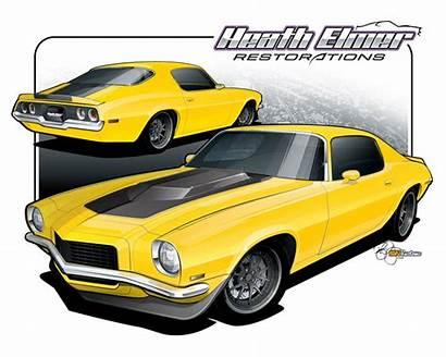 Camaro Clipart 1970 Chevy 57 Clip Cliparts