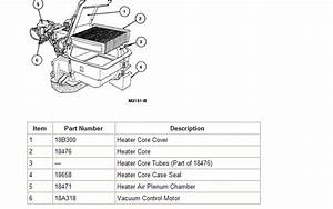 96 F150  How Dificult Is It To Change The Heater Core  Diagram