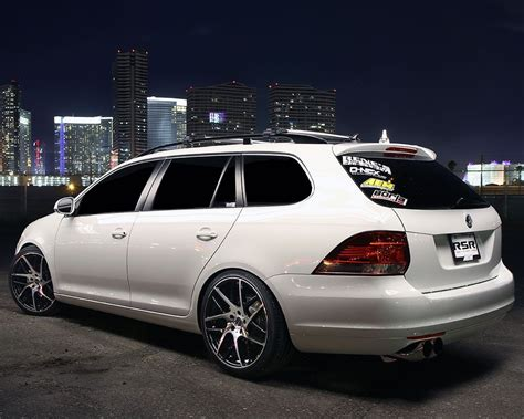 """Aem Equipped Jetta Sportwagen With 19"""" Rsr Wheels And A"""