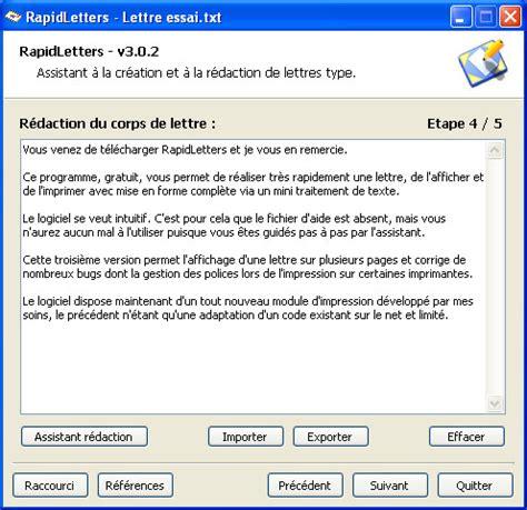 Rédaction Cv Gratuit cover letter exle lettre de motivation logiciel gratuit