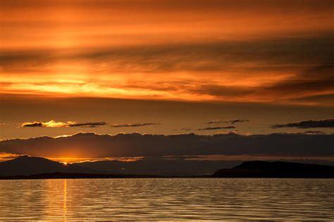 qualicum beach sunset photograph  randy hall