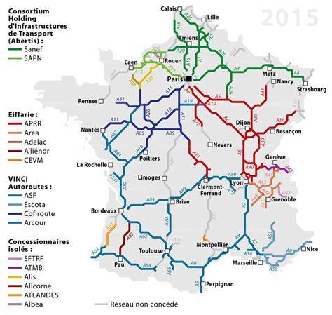 Carte Des Autoroutes Du Centre De La by A La Une Tarifs Autoroutiers D 233 Couvrez La Carte Des