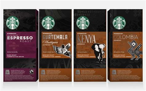 starbucks to launch nespresso compatible espresso pod range foodbev media